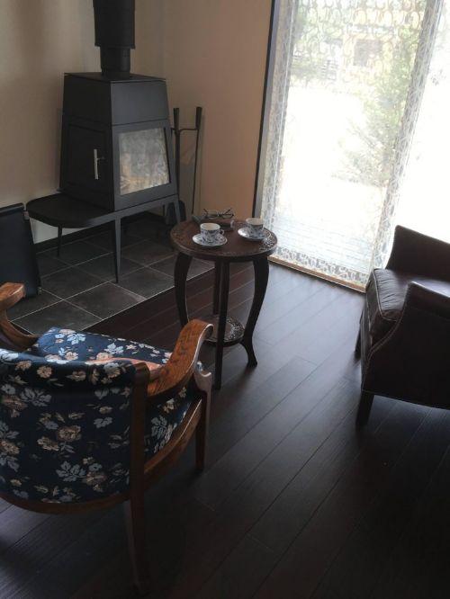 西軽井沢の宿泊体験型モデルハウス