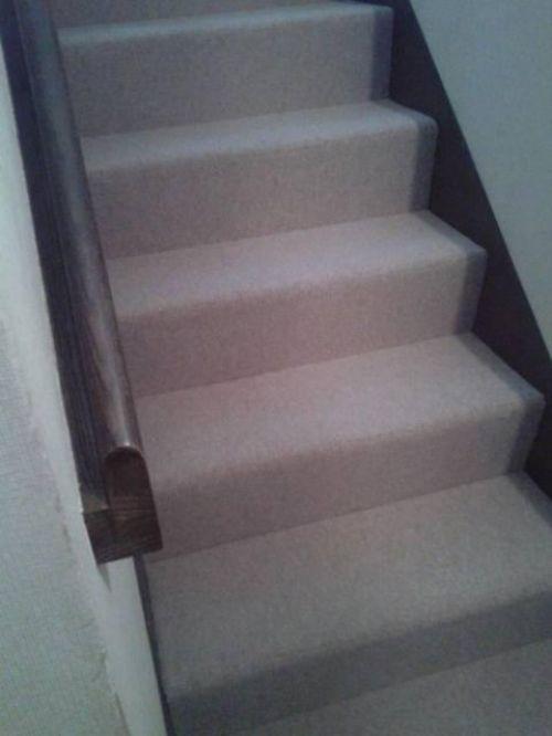 階段のカーペット張り替えリフォーム
