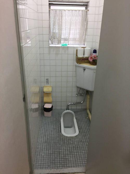 オフィスの女子トイレの改装