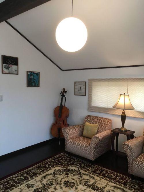 西軽井沢の宿泊体験型モデルハウスのファミリールーム