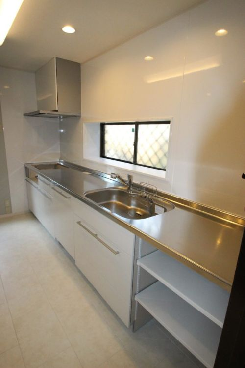 2×4住宅のキッチン改修